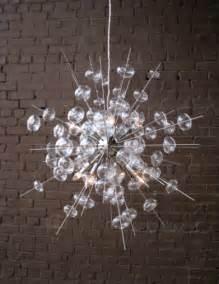 Bubbles Glass Chandelier bubbles nickel chandelier