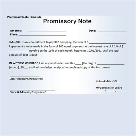 21 Sle Assignment Of Promissory Note Tattica Info Assignment Of Promissory Note Template