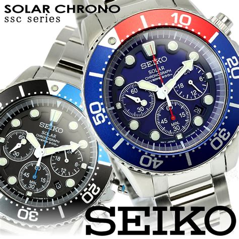 mix seiko seiko chronograph divers  mens  ssc rakuten global market