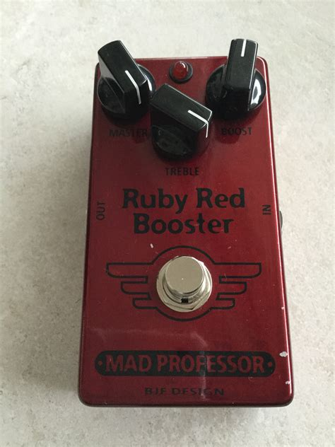 Booster X By Mad Prof photo mad professor ruby booster mad professor ruby booster 93010 1603175