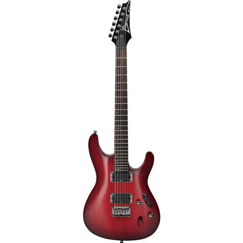 Ibanes S Series Sunbers Gnb Pu ibanez s series s521 electric guitar s521bbs b h photo