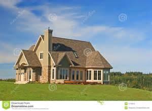 Hillside House Plans Brand New House Stock Photo Image 1770910