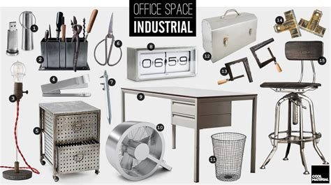 Cool Work Desk Accessories Office Space Industrial Cool Material