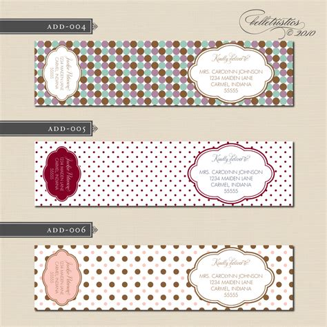 design address label printing projects on pinterest address labels