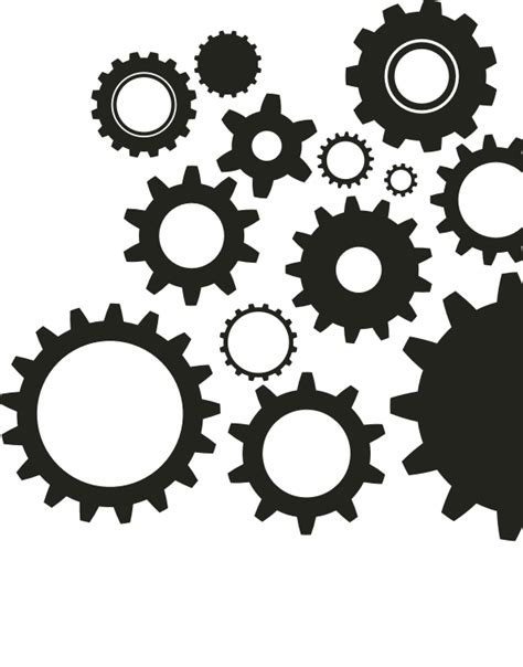 Stencil Machine Gear By 1airbrush gears graffletopia