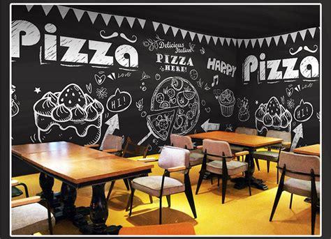 coffee restaurant wallpaper bakery pizza cupcake classical 3d photo wallpaper mural