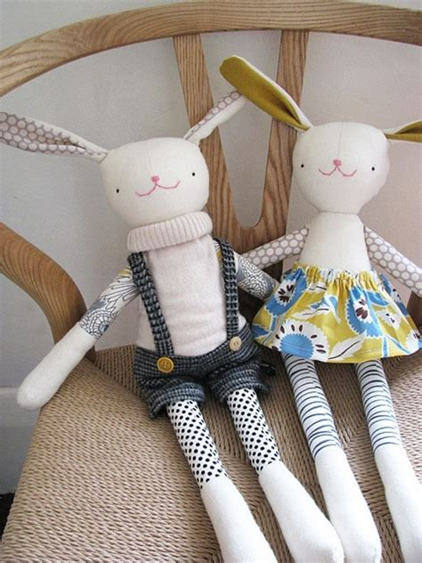 Handmade Toys Patterns - 23 adorable stuffed animals you can make for your