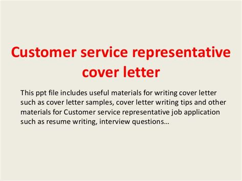 sle cover letter for customer service rep sle cover letter customer service representative 28