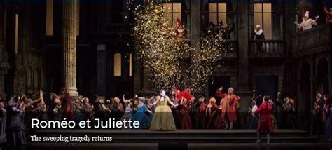romeo  juliette  metropolitan opera