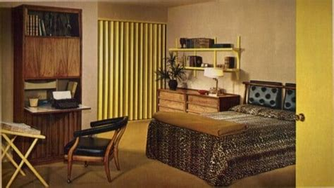 60s bedroom 17 groovy home interiors from 1965 retro renovation