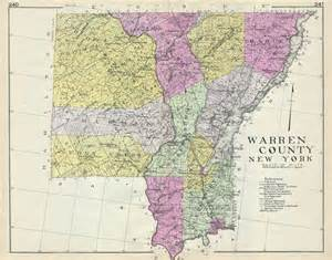 warren county new york geographicus antique maps