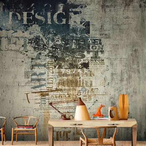 customized size  retro graffiti dilapidated wall photo