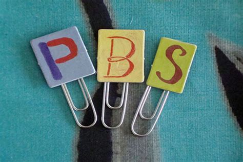 Paper Clip Crafts - paper clip bookmarks crafts for pbs parents