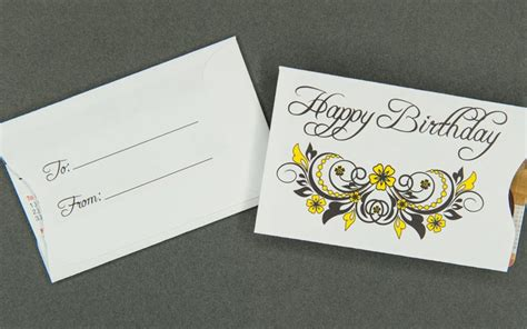 Gift Card Sleeve Envelopes - gift card sleeve happy birthday archives bank cards dvds rfid and cd envelopes