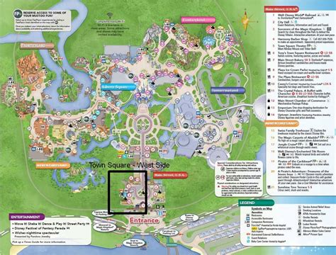 west side usa map chapter 4 magic kingdom town square west side