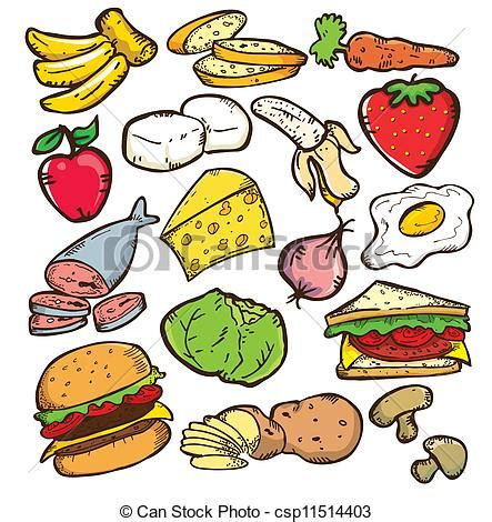 food drawings free clipart food clipart bay