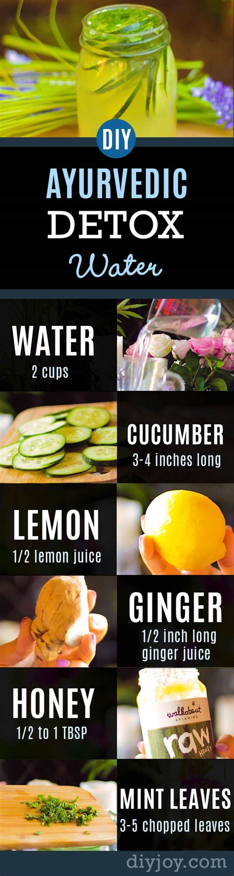 Diy Detox Drinks For Skin by Ayurvedic Detox Water Weight Loss Clear Skin Flat
