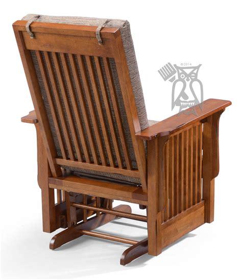Glider Rocking Chair by Hoot Judkins Furniture San Francisco San Jose Bay Area