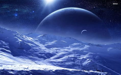 frozen planet wallpaper frozen planet fantasy planets pinterest