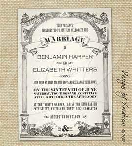 free sle wedding invitations vintage wedding invitations vintage wedding invitation templates southern civil war