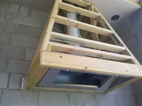 outdoor grill exhaust fan inside of range hood framing a kitchen remodel what i