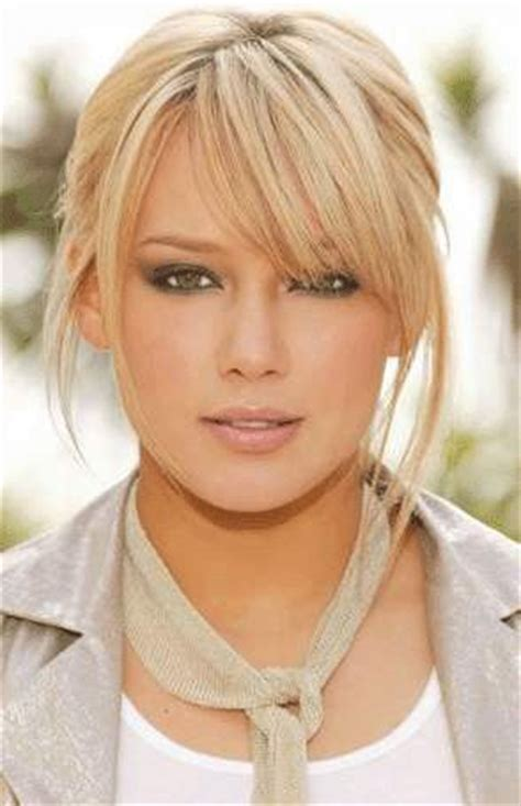 good hairstyles for medium hair with bangs hairstyles