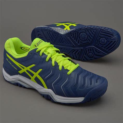 Sepatu Asic Profesional sepatu tenis asics original gel challenger 11 indigo blue