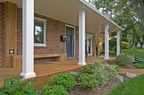 modern porches contemporary front porch bethesda md contemporary