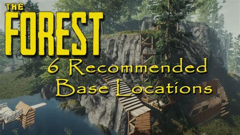 forrest don t rock the boat 6 recommended base locations the forest youtube