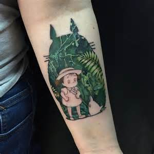 totoro tattoo by yury timko