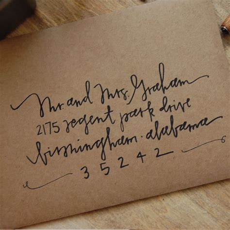 should wedding invitations envelopes be handwritten items similar to handwritten envelopes on etsy