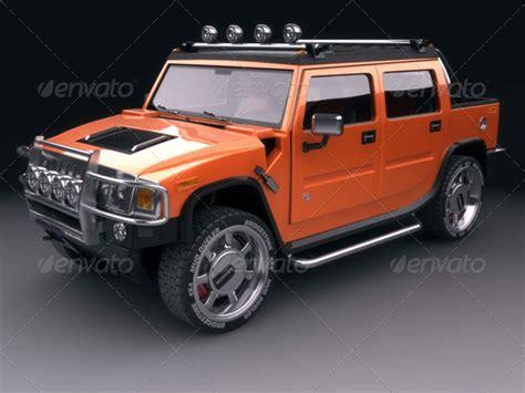 Hummer H2 Kaos 3d Umakuka 1 3d models hummer h2 sut 3docean
