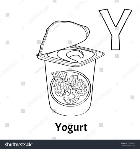 Coloring Page Yogurt by Yogurt Coloring Page Coloring Pages For Children