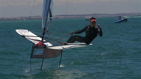sailing boat moth how moth sailing became formula 1 on water cnn
