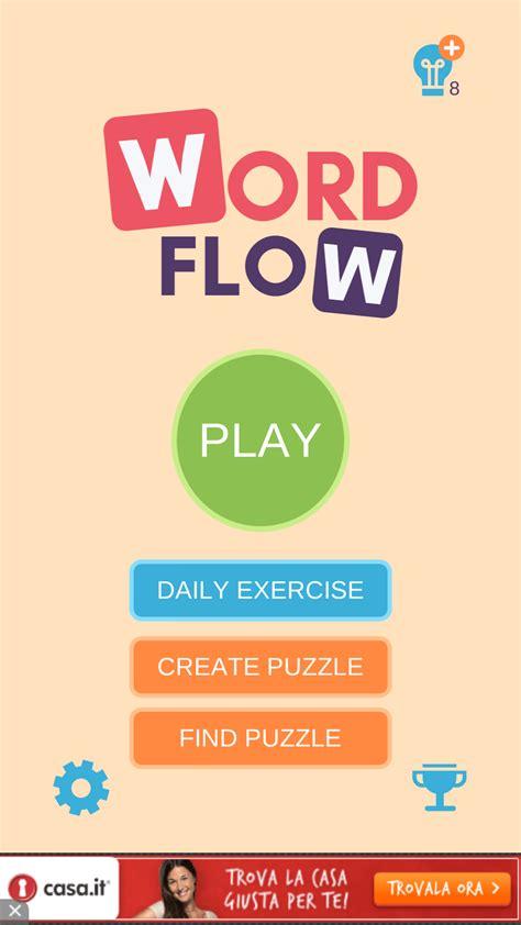 trovare parole con le lettere word flow brain trainer puzzle 232 un rompicapo basato sulle