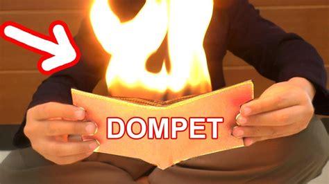 Dompet Api Sulap rahasia sulap dompet di buka mengeluarkan api
