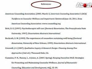 how to make reference pages in apa format