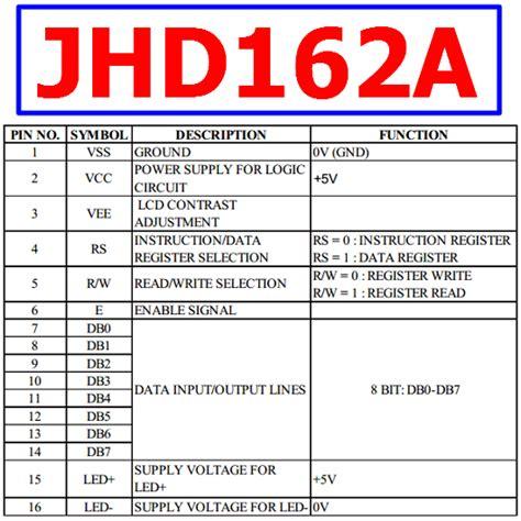 lcd datasheet pdf download