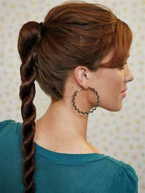 everyday nice hairstyles 5 nice easy ponytail hairstyle ideas with easy tutorial