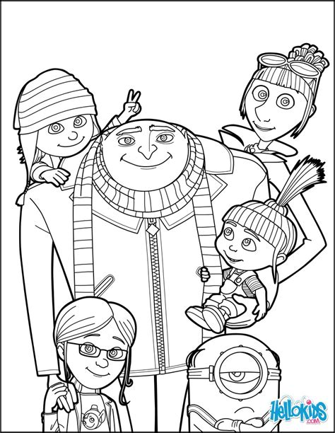 despicable me 3 gru coloring pages hellokids com