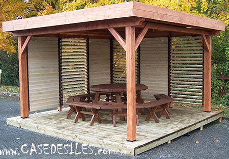 barbecue bois 2494 kiosque bois casedesiles