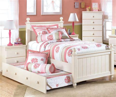kids twin bed cottage retreat  ashley furniture  kensington furniture girls rooms