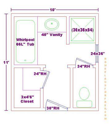 Normal Bathtub Size by Category 6x8 Bathroom Design Bathroom Planning Ideas With