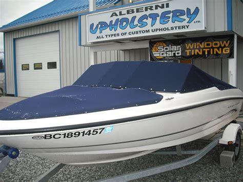 boat snap covers alberni upholstery port alberni parksville nanaimo
