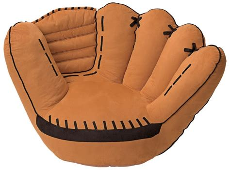 baseball glove couch 5 best funky chairs give you a super fashion room tool box