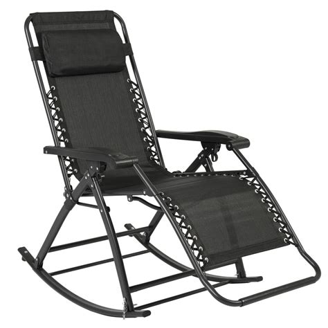 outdoor patio lounge chairs best choice products zero gravity rocking chair lounge