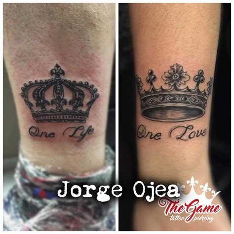 king and queen tattoo quotes 10 beautiful king queen tattoo for beautiful couples
