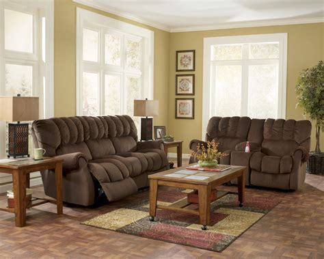 buy ashley furniture 9670138 9670135 set mykla shitake 25 facts to know about ashley furniture living room sets