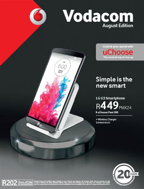 vodacom prepaid deals vodacom shop catalogue booklet august 2014 sa cellular net