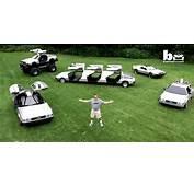 Man Builds Custom DeLorean Cars Monster Truck And